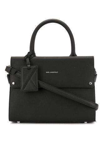 Karl Lagerfeld маленькая сумка-тоут K/Ikon - купить в интернет магазине в Москве | Цены, Фото.