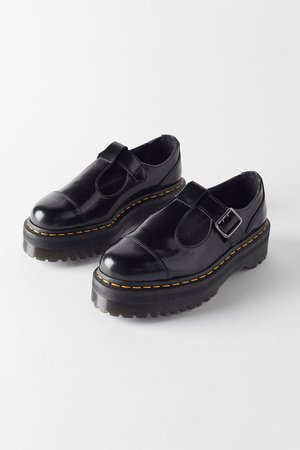 Dr. Martens Bethan Polished Smooth Leather Platform Mary Jane | Urban Outfitters