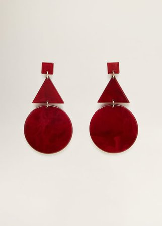 - f foEarrings Women | Mango USA