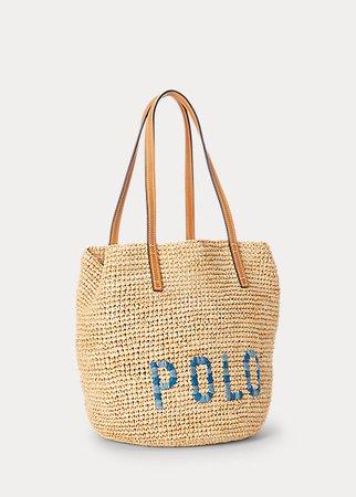 Raffia Medium Tote Bag