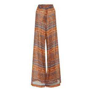Exclusive Egyptian Conceptuality Printed Broadcloth Wide-Leg Pants by Johanna Ortiz