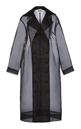 Pisa Organza Cotton Trench Coat by Toteme   Moda Operandi