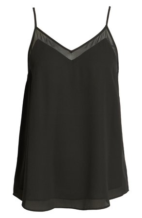 1.STATE Chiffon Inset Camisole | Nordstrom