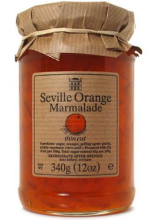 orange marmalade jar filler