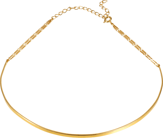 Basic Choker Necklace - Gold | Tada & Toy