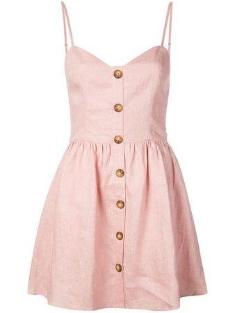 REFORMATION Velma dress pink