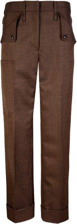 Joshua Millard Elder Wool Straight-Leg Trousers