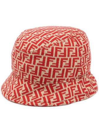 Fendi Pre-Owned Zucca Pattern Bucket Hat - Farfetch