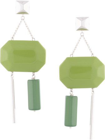Ralph Lauren Collection Geometric Drop Earrings - Farfetch