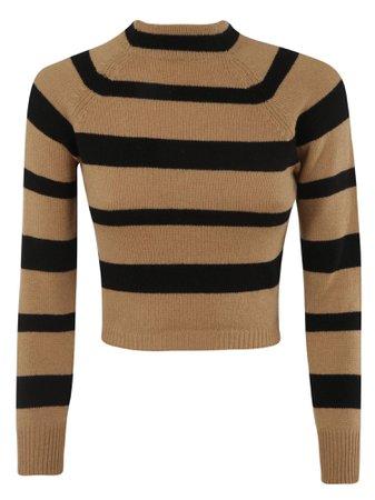 Miu Miu Striped Sweater
