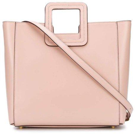 Shirley square handle tote bag