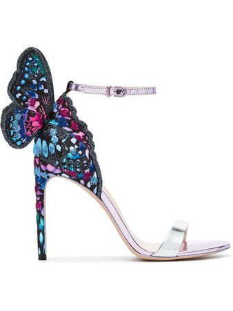Sophia Webster multicolour chiara 100 sandals $736 - Buy AW18 Online - Fast Global Delivery, Price