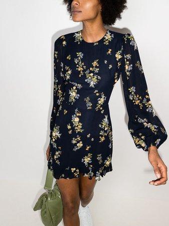 Reformation floral-print Mini Dress - Farfetch
