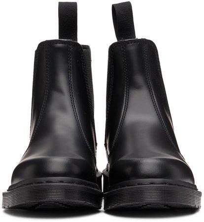 Dr. Martens: Black 2976 Mono Chelsea Boots | SSENSE