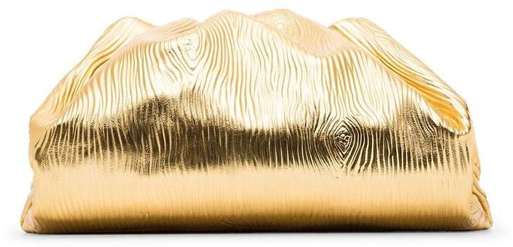 The Pouch textured clutch