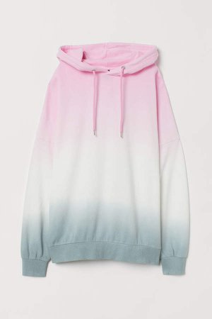 Cotton Hoodie - Pink
