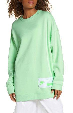 Nike Sportswear NSW Oversize Fleece Sweatshirt | Nordstrom