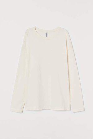 Jersey Top - White