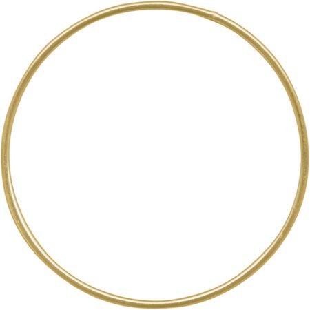 Gold Circle Aerialist Hoop 1
