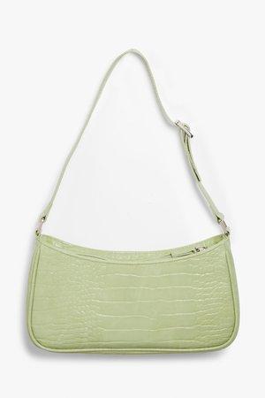 Small hand bag - Light green - Bags - Monki
