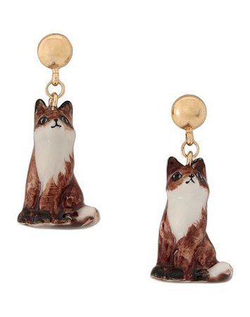 Nach Fox Earrings - Earrings - Women Nach Earrings online on YOOX United States - 50218381VR