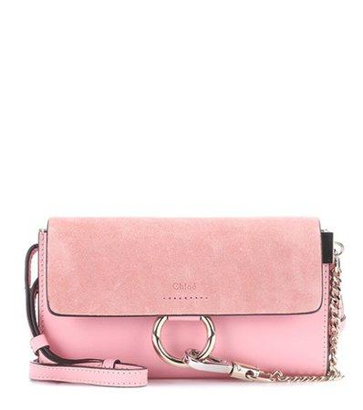 Faye Mini leather wallet bag