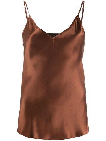 Lee Mathews Silk Camisole Top - Farfetch