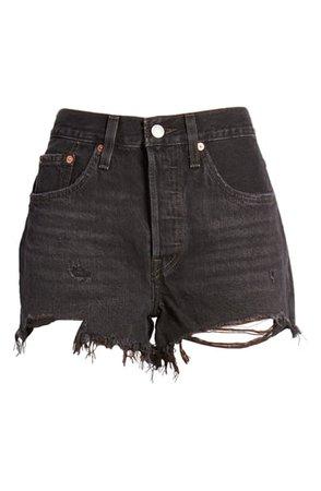 Levi's® 501® Original Cutoff Denim Shorts (Wise Up) | Nordstrom