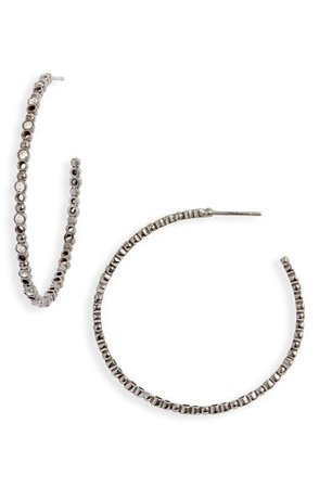 The Accessory Junkie Pavé Beaded Brioni Earrings | Nordstrom