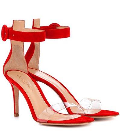 Stella 85 suede sandals