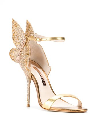 Sophia Webster Embellished Butterfly Sandals - Farfetch