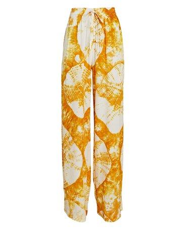 SWF Brisk Tie-Dye Wide-Leg Pants   INTERMIX®
