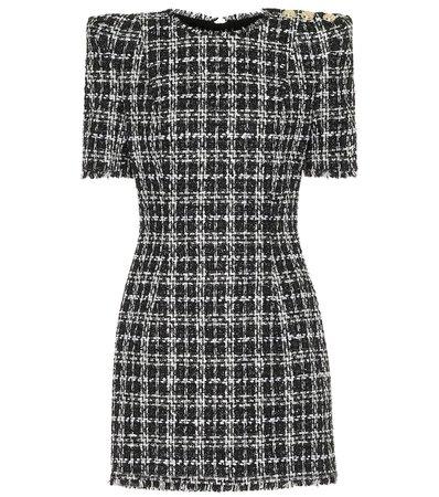 Balmain - Tweed minidress | Mytheresa