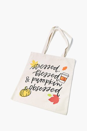 Pumpkin Obsessed Tote Bag | Forever 21