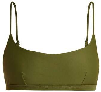 Matteau - The Crop Bikini Top - Womens - Khaki
