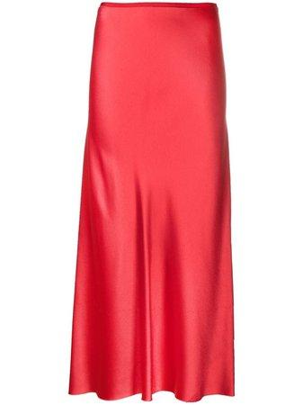 Maison Margiela high-waisted mid-length skirt