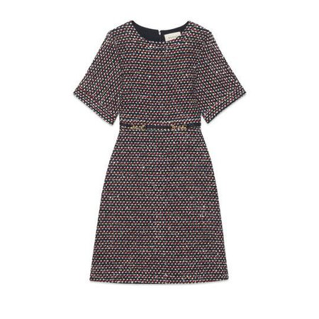 Sequin tweed dress - Gucci Women's Shorts Dresses 543334ZLE691004