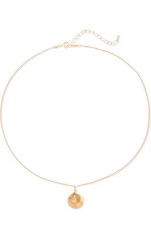 Chan Luu   Gold-tone and crystal necklace   NET-A-PORTER.COM