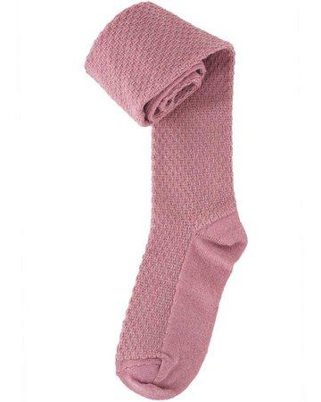 Bella Dark Rose Grey tights Mpdenmark