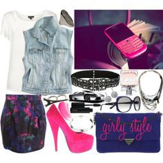 How To: Girly Style by irishfleur06 on Polyvore