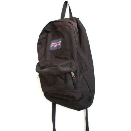 JANSPORT BLACK vintage 90s BACKPACK day pack