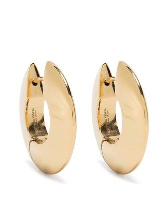 Bottega Veneta Chunky Hoop Earrings - Farfetch