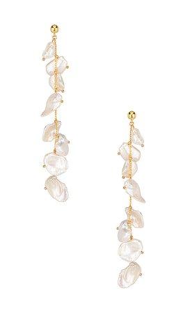 Amber Sceats Miller Earrings in Gold | REVOLVE