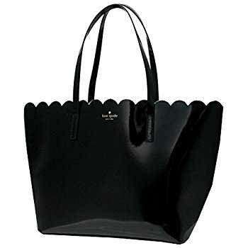 Amazon.com: Kate Spade Bennet Place Small Harmony Smooth Leather Tote Shoulder Bag Purse Handbag with Matching Wristlet Pouch (Black): Clothing
