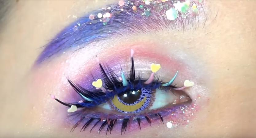 Dreamy Clouds   Kawaii Eye Makeup
