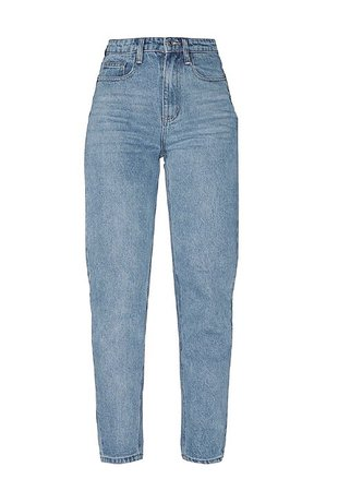 prettylittlething blue jeans
