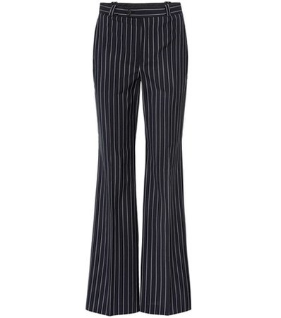 Ticah pinstriped trousers