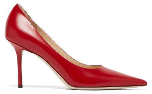 Love 85 Leather Pumps - Womens - Red