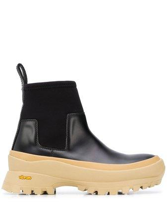Jil Sander Chunky Chelsea Boots