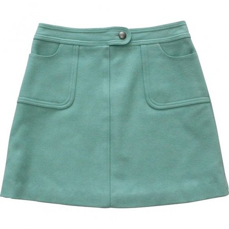 PAUL & JOE Green Skirt